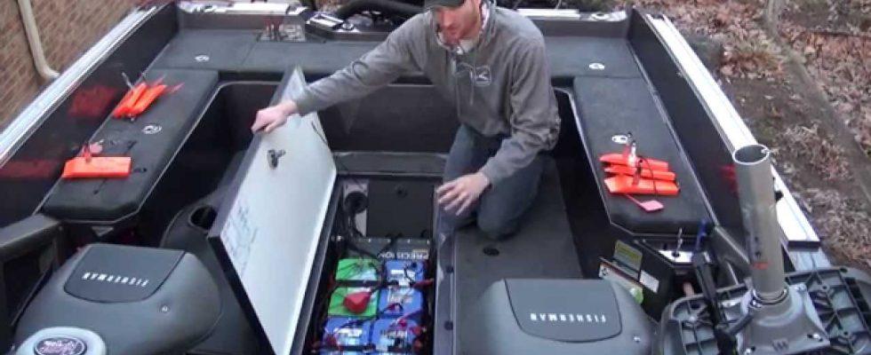marinebatteri installation