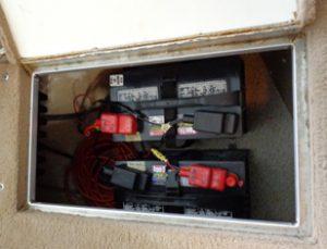 marinebatteri korrekt installering